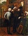 Daumier - LES AMATEURS DE TABLEAUX, circa 1858-62.jpg