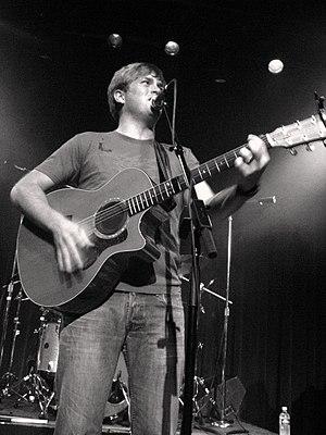 Dave Barnes - Barnes performing in Birmingham, Alabama in 2006.