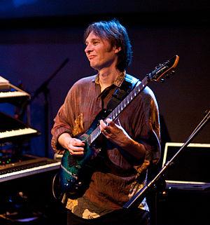 Dave Bainbridge - Dave Bainbridge during a 2010 Iona concert