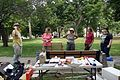 David Gadsby planning the first day, Civil War Archeology in Lafayette Square (5916576823).jpg