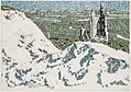 David Milne-Ablain-Saint-Nazaire Church from Lorette Ridge Looking toward Souchez and Vimy.jpg