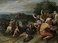 De Bataven sluiten de Romeinen bij Vetera in Rijksmuseum SK-A-425.jpeg
