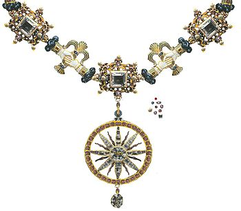 English: The collar of the Order of Jehovah, S...