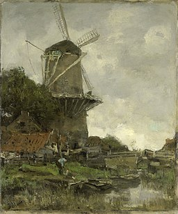De molen Rijksmuseum SK-A-2986