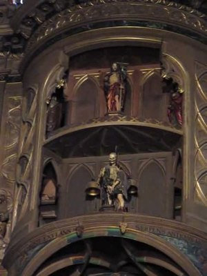 File:Death and child of the astronomical clock of Strasbourg.ogv