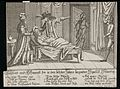 Deathbed patient, represents death of Venetian Republic Wellcome L0034615.jpg