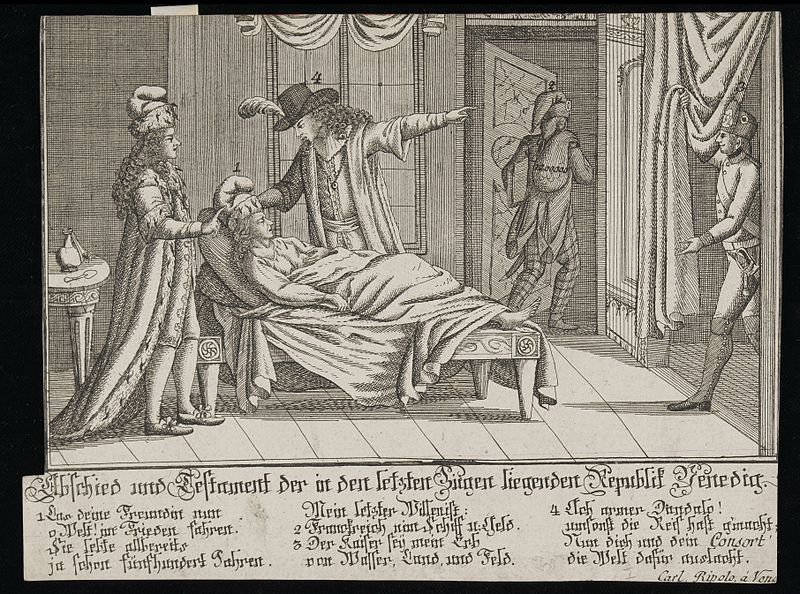 File:Deathbed patient, represents death of Venetian Republic Wellcome L0034615.jpg