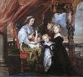 Deborah Kip, wife of Balthasar Gerbier, and her children, by Peter Paul Rubens (and possibly Jacob Jordaens).jpg