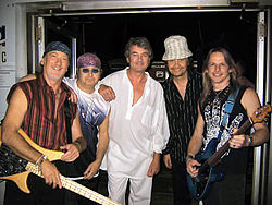 In 2004, from left to right, Roger Glover, Ian Paice, Ian Gillan, Don Airey and Steve Morse
