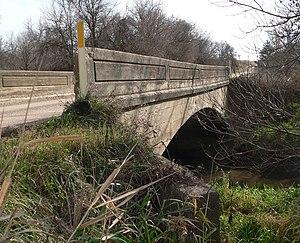 National Register of Historic Places listings in Clay County, Nebraska - Image: Deering Bridge 5