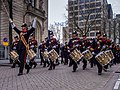 Defilé Korps Mariniers op de Coolsingel te Rotterdam ter ere van het 350 jarig bestaan. (23072993303).jpg