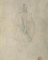 Dehodencq A. - Pencil - Etude d'oriental vu de dos - 15x26cm.jpg