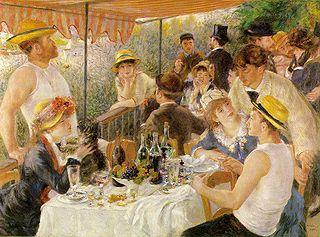 Déjeuner des Canotiers - A. RENOIR