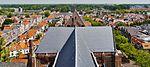 Delft Blick von der Nieuwe Kerk aufs Kirchendach 3.jpg