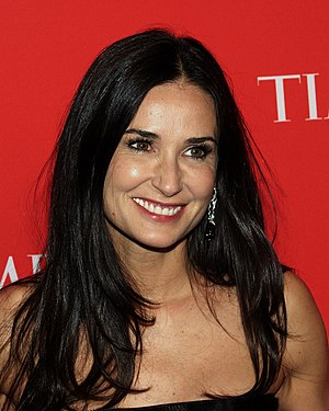 Striptease (film) - Demi Moore plays Erin Grant and received a record salary for the film.