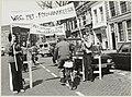 Demonstratie door de afdeling Haarlem van de ENFB (echte Nederlandse Fietsersbond) om veilige en goede fietsverbindingen door Haarlem te verkrijgen., NL-HlmNHA 54014855.JPG