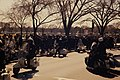 Demonstrations. U.S. Park Police patrolling a demonstration in Washington DC. (c4582be49d064cd68be8b71f3edaf44f).jpg