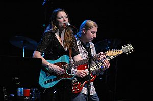Susan Tedeschi - Soul Stew Revival at Mizner Park with Derek Trucks December 28, 2007