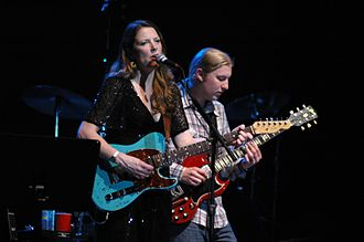 Tedeschi Trucks Band - Tedeschi and Trucks performing as Soul Stew Revival in 2007.