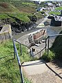Descent to Porthgain harbour - geograph.org.uk - 1520927.jpg