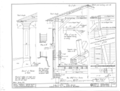 Details, On Half Cross Section - Smith's Covered Bridge, Beaver Valley, spanning Brandywine River, Granogue, New Castle County, DE HABS DEL,2-BEAVA,1- (sheet 3 of 3).png