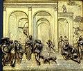 Detalle en Puerta Paraíso, Baptisterio de San Giovani 1, Florencia.JPG
