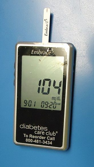 Medical tricorder - A handheld single-function electronic device to measure glucose levels of diabetics. Performing this and other tests would be one of the many functions of a medical tricorder.