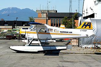 Harbour Air Seaplanes - A Harbour Air De Havilland Canada DHC-2 Beaver in Richmond in June 2006