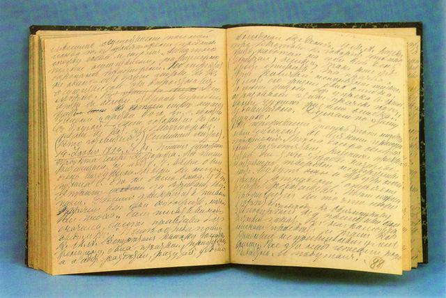 Свой дневник Л.Н.Толстой вёл с юных лет до конца жизни. Записи из тетради 1891—1895гг.