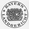 """Dienstsiegel """"Bayern Landgericht"""" (Druck, 2012).png"""