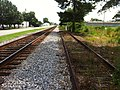 Dillon, SC June 2013 Maintenance of Way spur area End of Track - panoramio.jpg