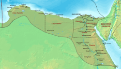 Location of Diocese of Egypt