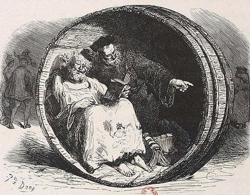 Diogène et Rabelais, Prologue du Tiers Livre