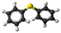 Diphenyl sulfide molecule ball.png