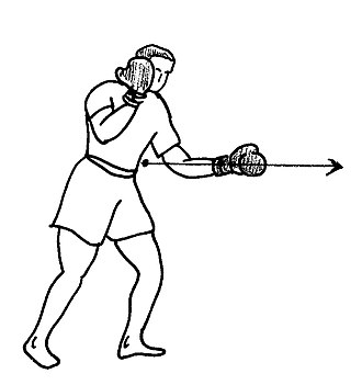Short straight-punch - Image: Direct court 1