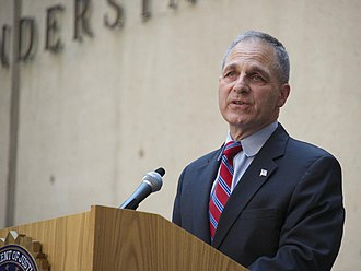 Louis Freeh - Freeh speaks at the farewell ceremony of outgoing Director Robert Mueller in 2013