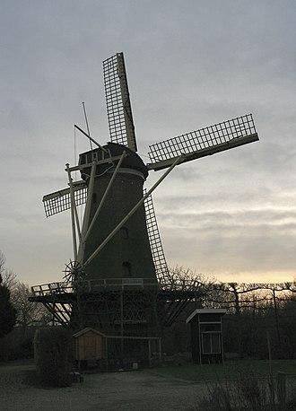 Dirksland - Image: Dirksland molen De Eendracht