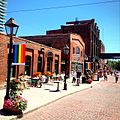 Distillery District ready for WorldPride 2014.jpg