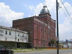 Dixie Brewing Company - Dixie Brewery, 2401 Tulane Avenue; post-Katrina photograph