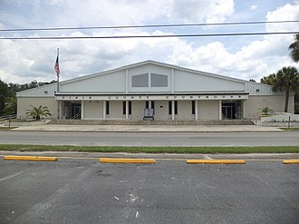 Dixie County, Florida - Image: Dixie County Courthouse, Cross City