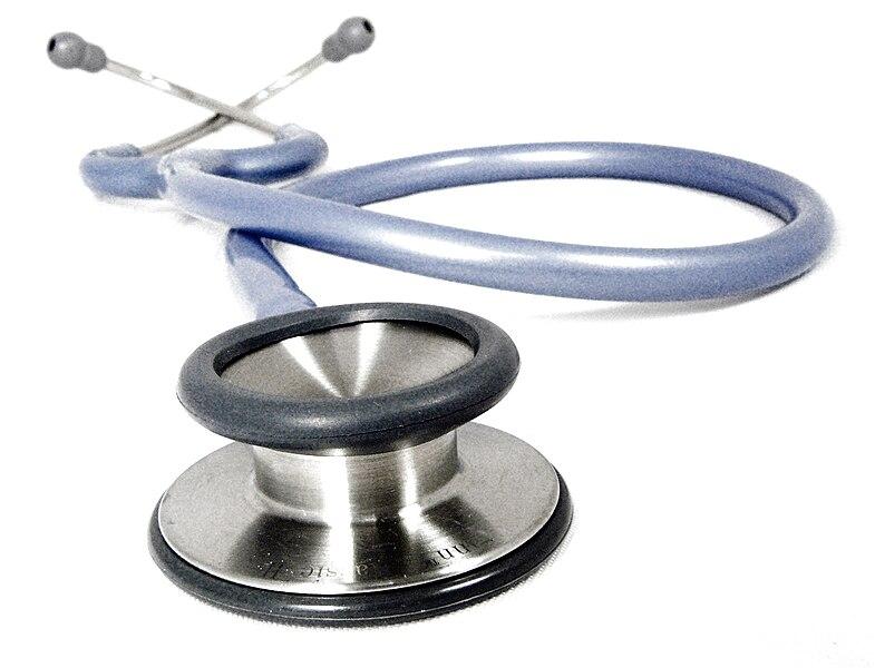 File:Doctors stethoscope 1.jpg