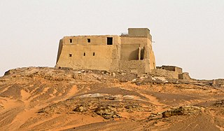 A 9th century, largely extant, building in northern Sudan