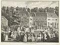 Doop bij de Rijnsburgse Collegianten, ca. 1735, Balthasar Bernards, after Louis Fabritius Dubourg, 1736 RP-P-OB-84.112.jpg