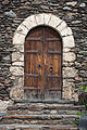 Door of the church of Sant Serní de Llorts. Ordino. Andorra 90.jpg