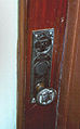 Doorknob and escutcheon plate.jpg