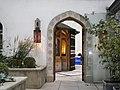 Doorway, St Ethelburga's Churchyard, Bishopsgate EC2 - geograph.org.uk - 1571135.jpg