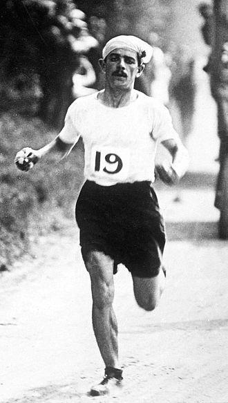 Dorando Pietri - Pietri at the 1908 Olympics