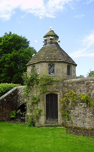 Dovecote at Nymans Gardens, West Sussex, England May 2006 3.JPG