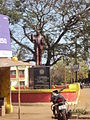 Dr. Ambedkar statue at Chicalim circle.JPG
