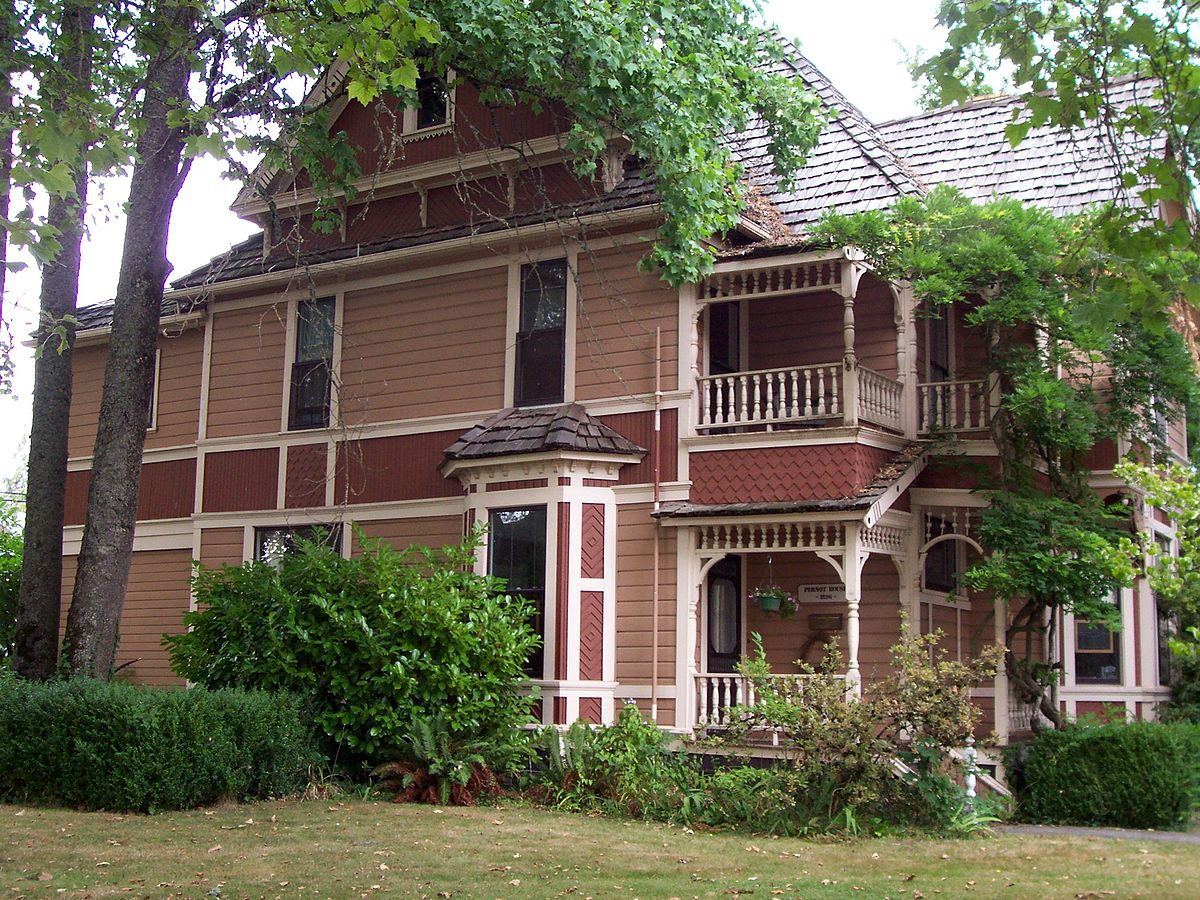 Dr henry s pernot house wikipedia for Building a home in oregon